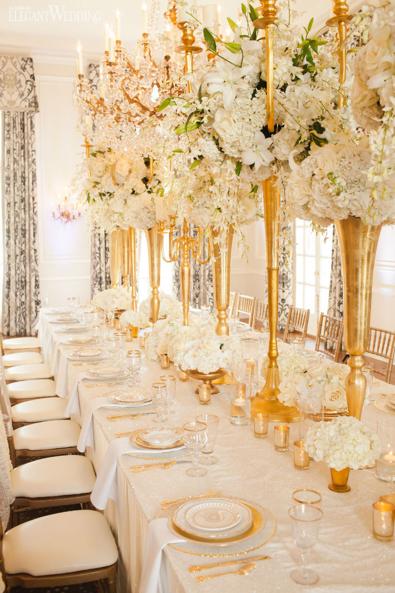 If You Re Looking To Have A Gold And Ivory Wedding Theme This Is All Ll Need Be Inspired