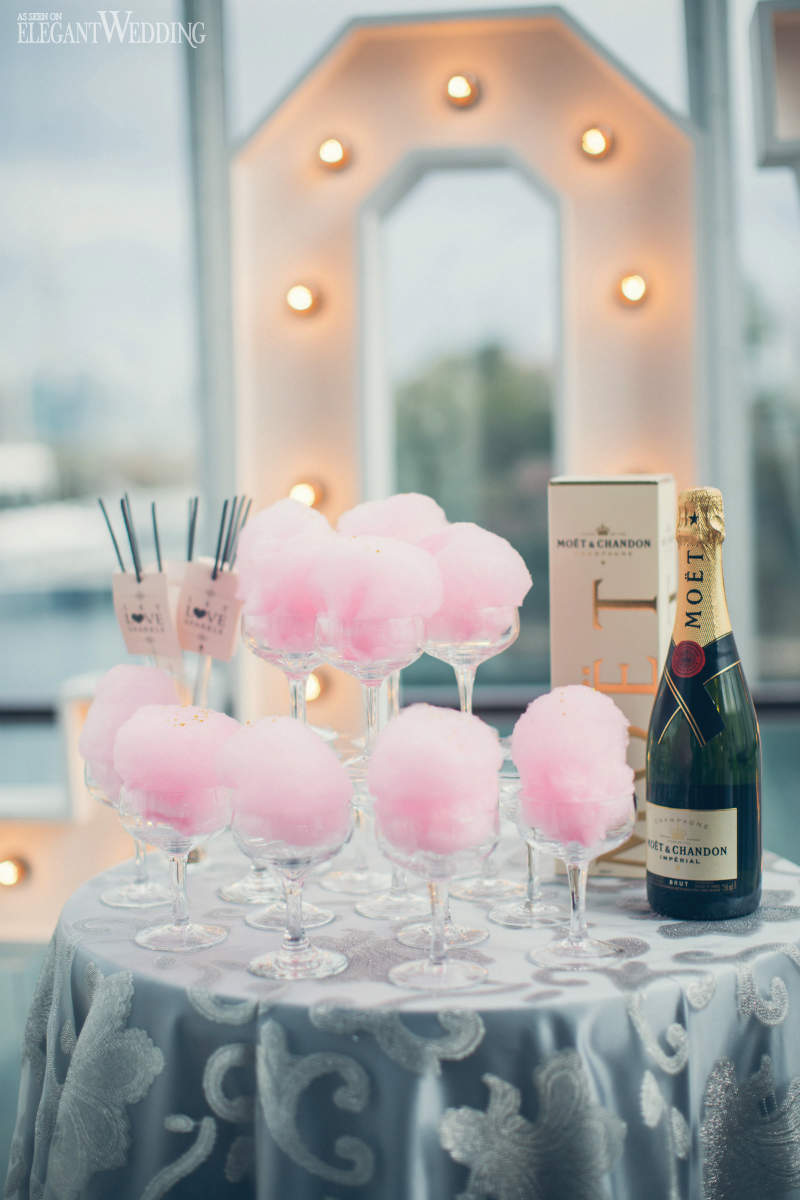 Cotton Candy Sweet Table