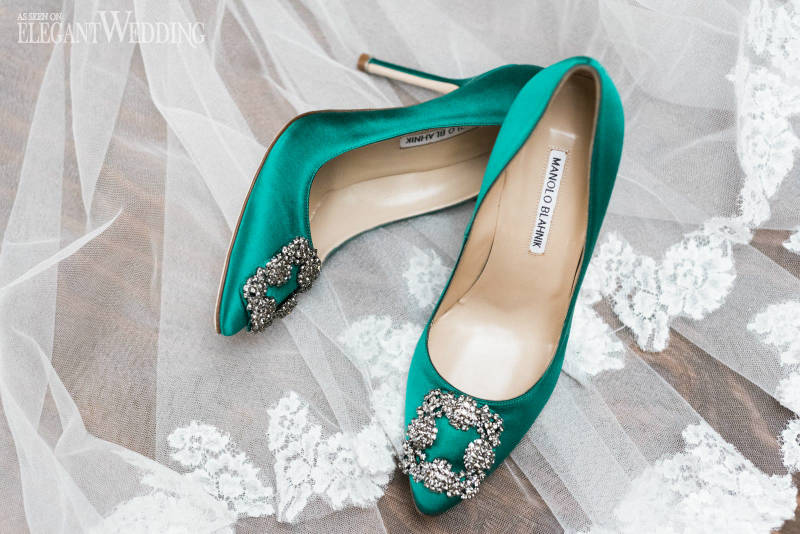 Spanish Wedding Shoes by Manolo