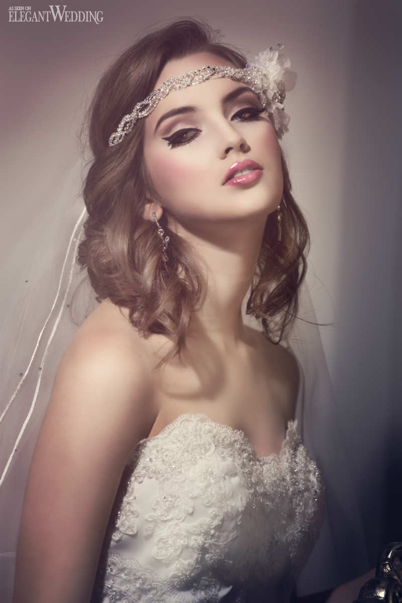 Old Hollywood Glamour Bridal Makeup Amp Hair Elegantwedding Ca