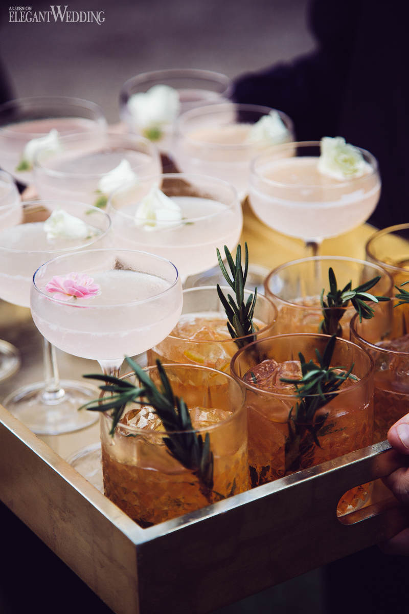 Hawaiian Wedding Cocktails