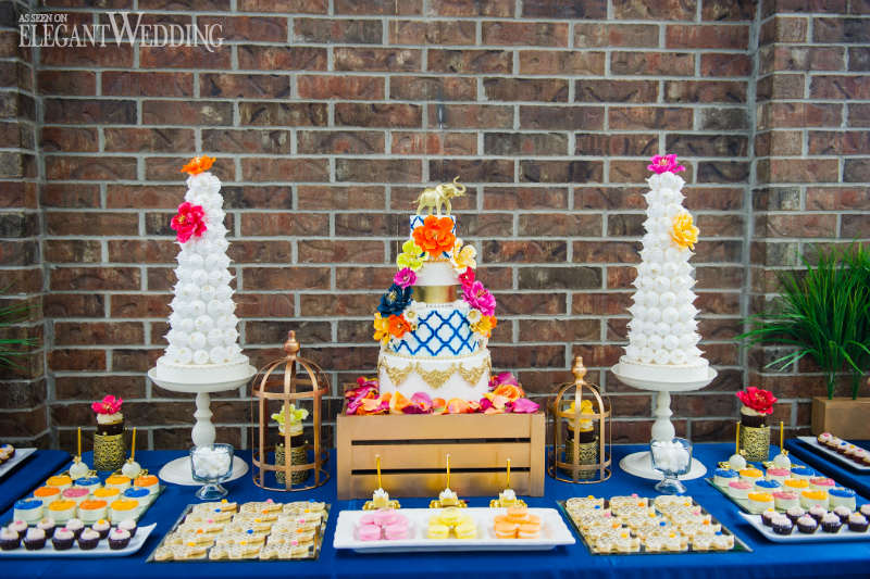 Thailand Inspired Sweet Table