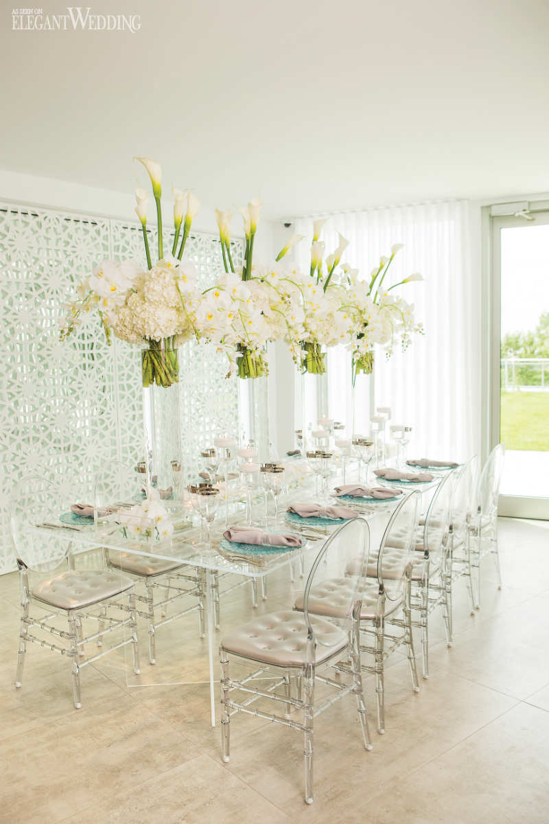 White Table Setting Ideas