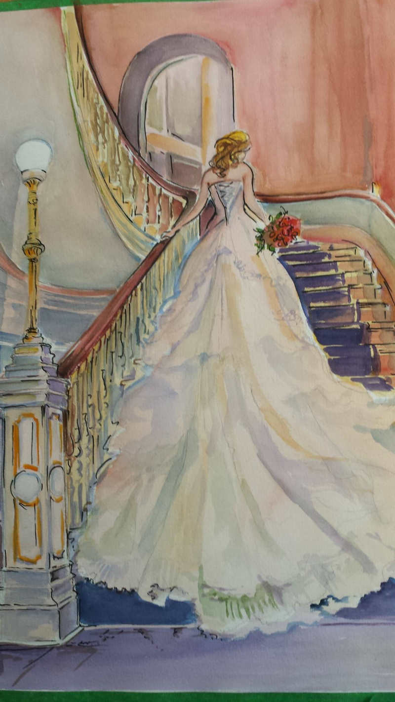 Live Wedding Art