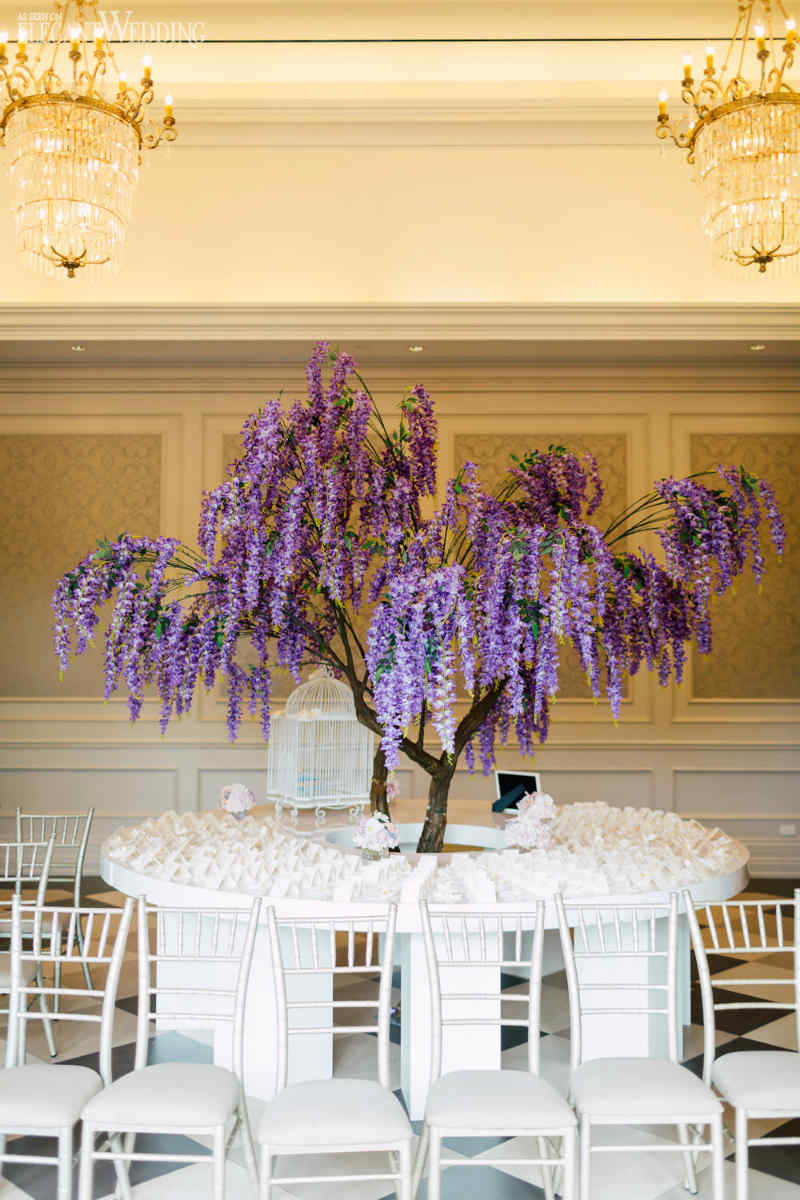 Wisteria Tree Wedding Decor