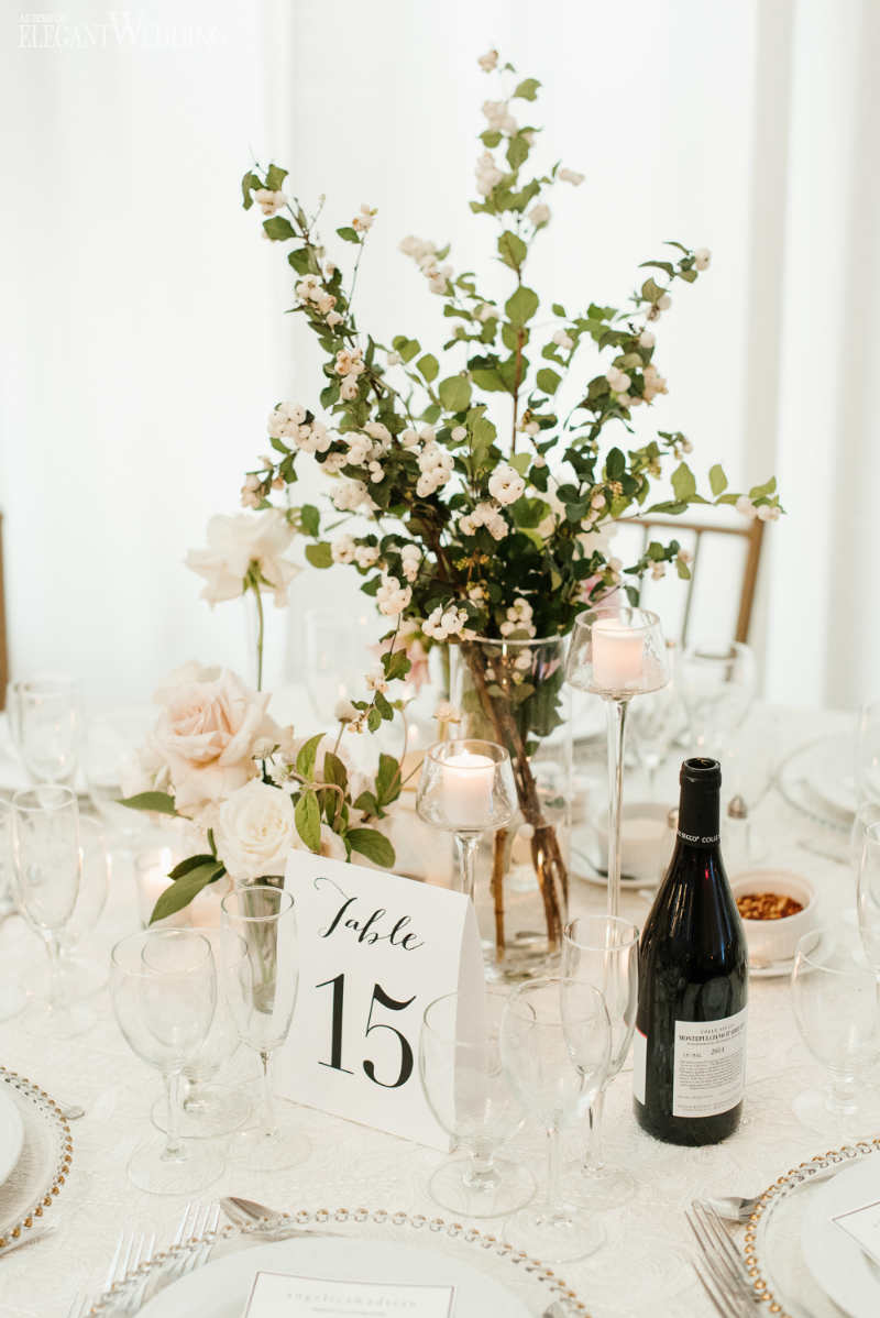 Small Greenery Centrepieces