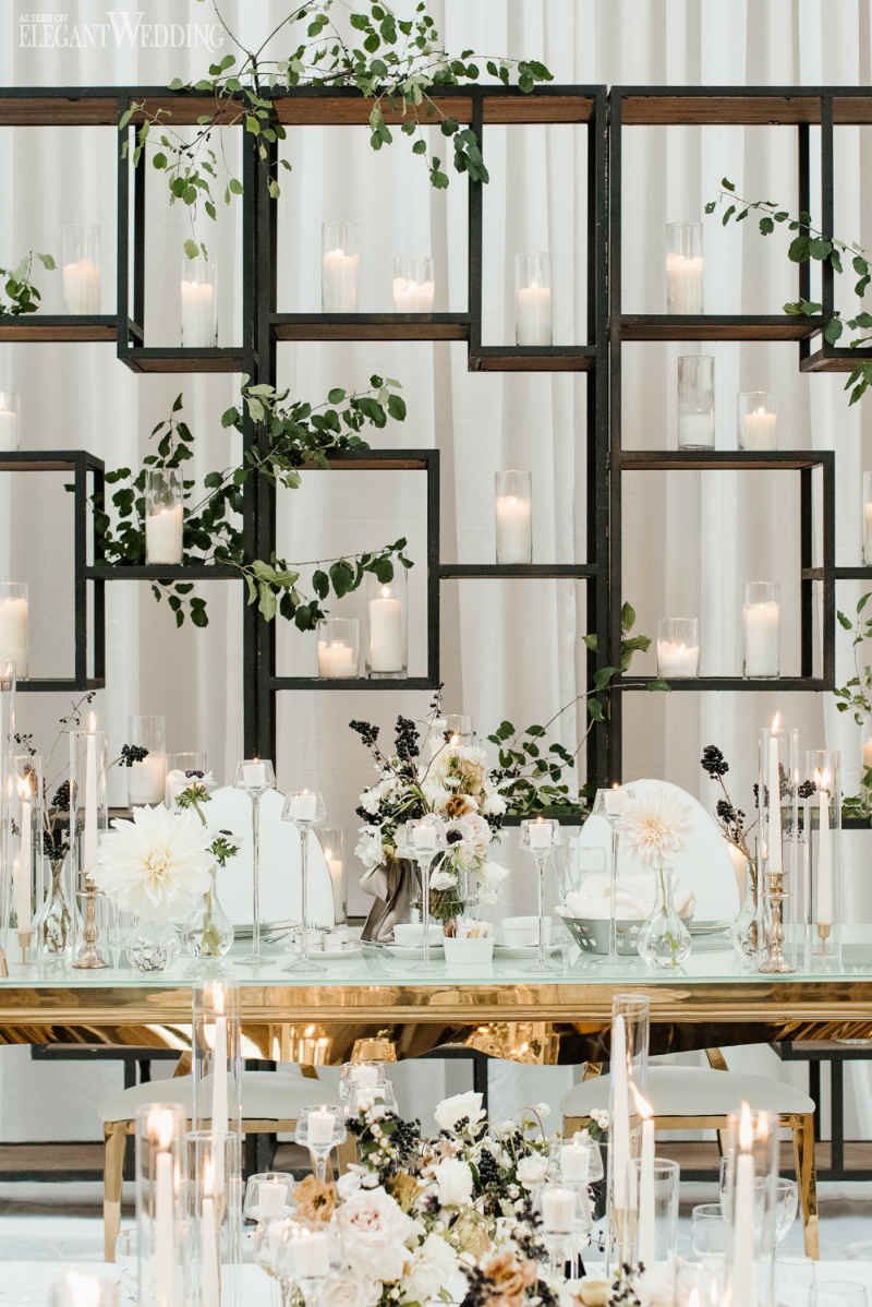 Modern Wedding Table Setting