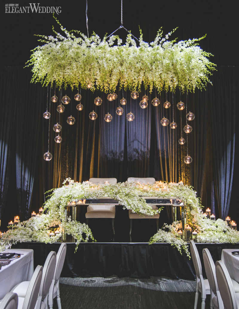Dendrobium Orchid Ideas Head Table