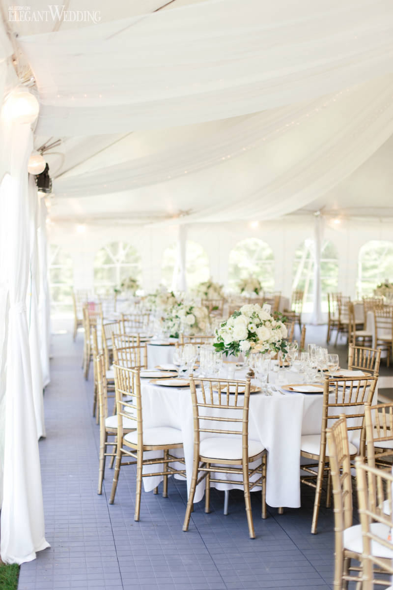 Outdoor Tented Wedding Ideas