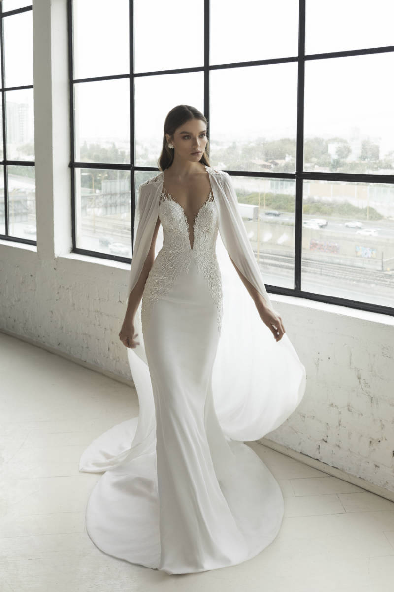 Cape Wedding Dress Ideas