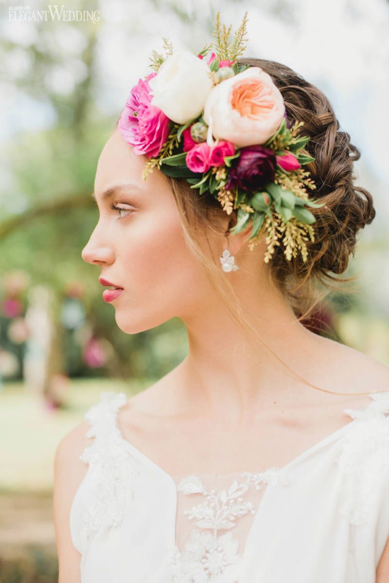 Bridal Hair Flower Ideas