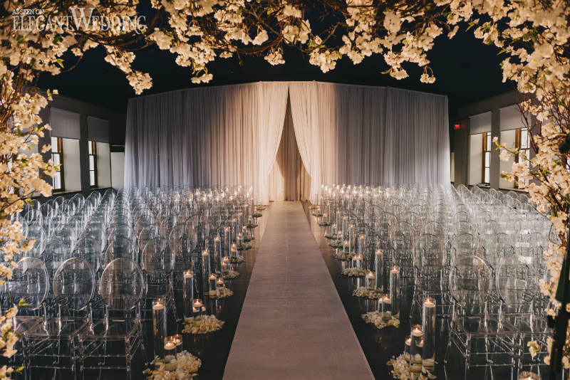Clear Wedding Ceremony Chairs