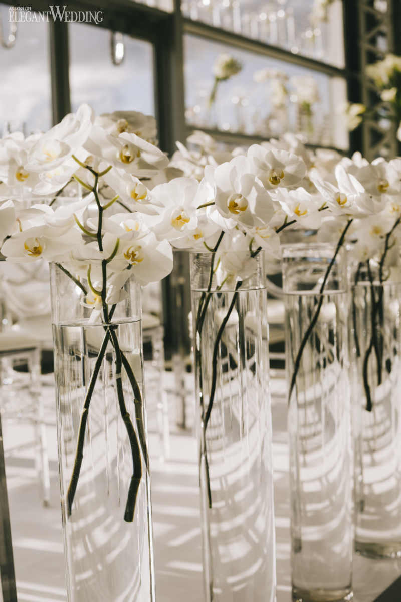 White Orchid Wedding Flowers