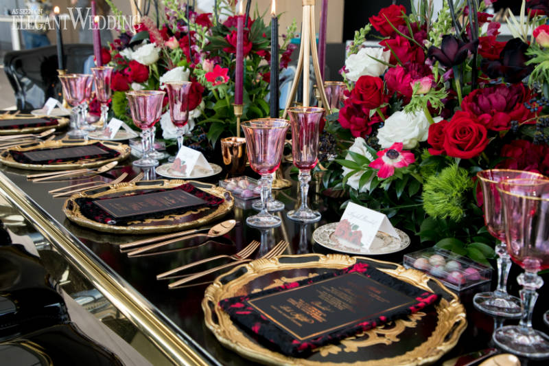 Red Rose Centrepieces