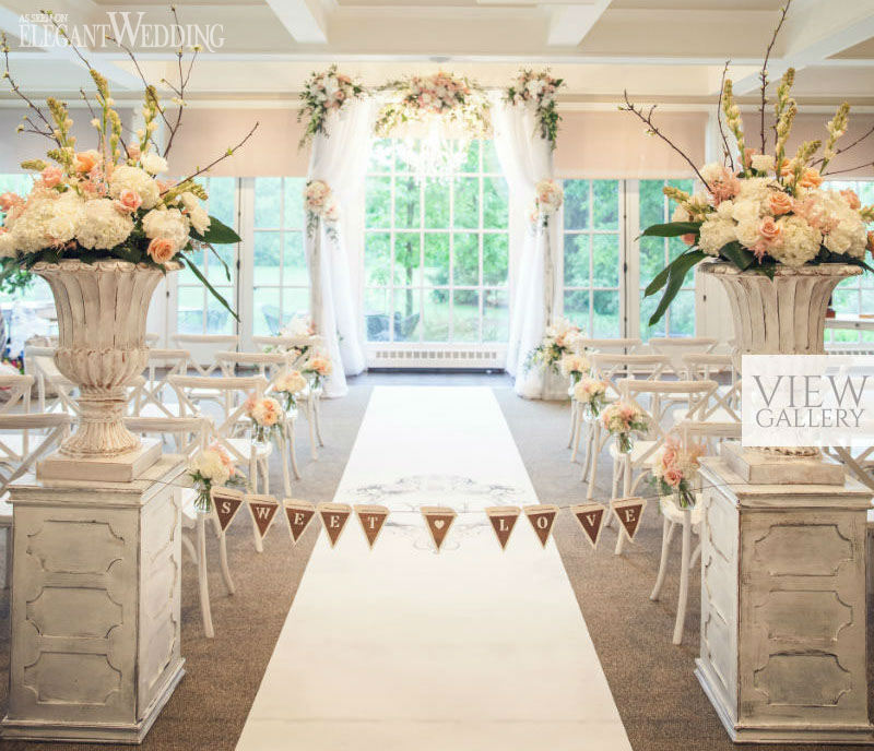 Indoor Secret Garden Wedding