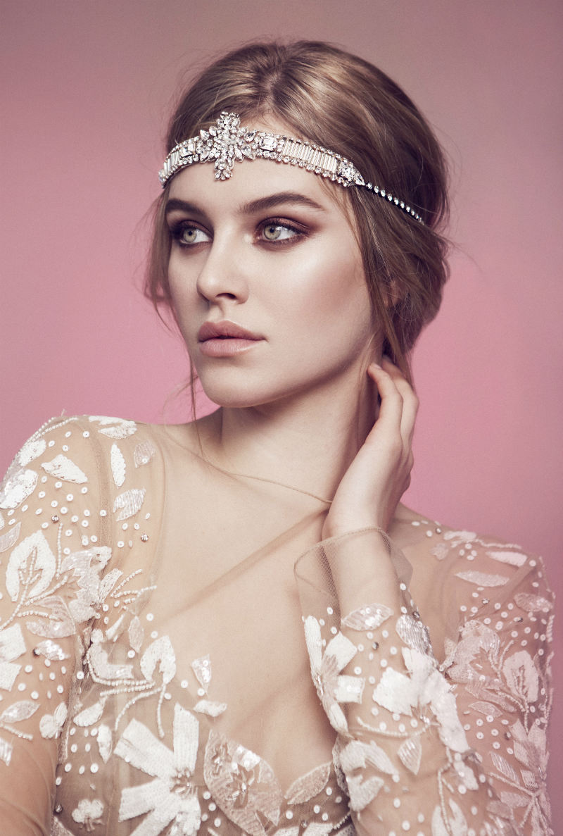 Olivia The Wolf Bridal Headpieces | ElegantWedding.ca