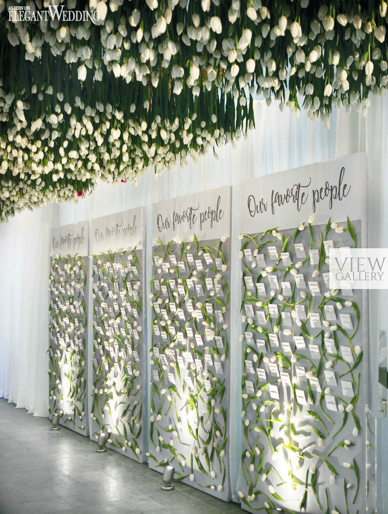 A Tunnel of Tulips Wedding in Montreal