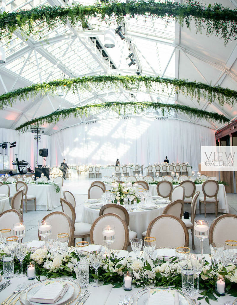 Modern Indoor Garden Wedding In Montreal