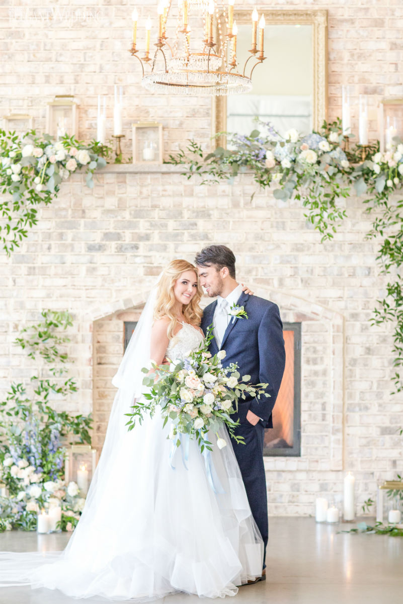 Rustic Wedding With Greenery Flowers and Decor