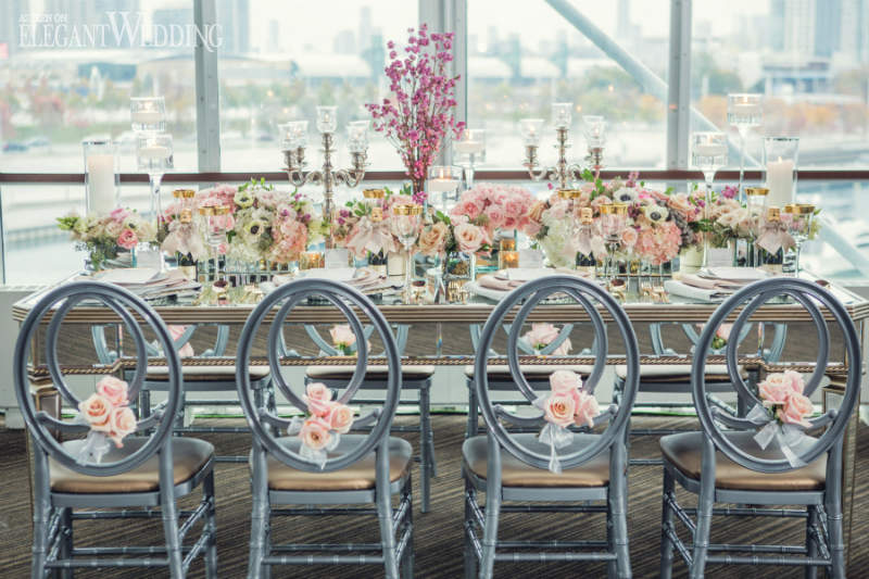 Sex and The City Wedding Theme Table
