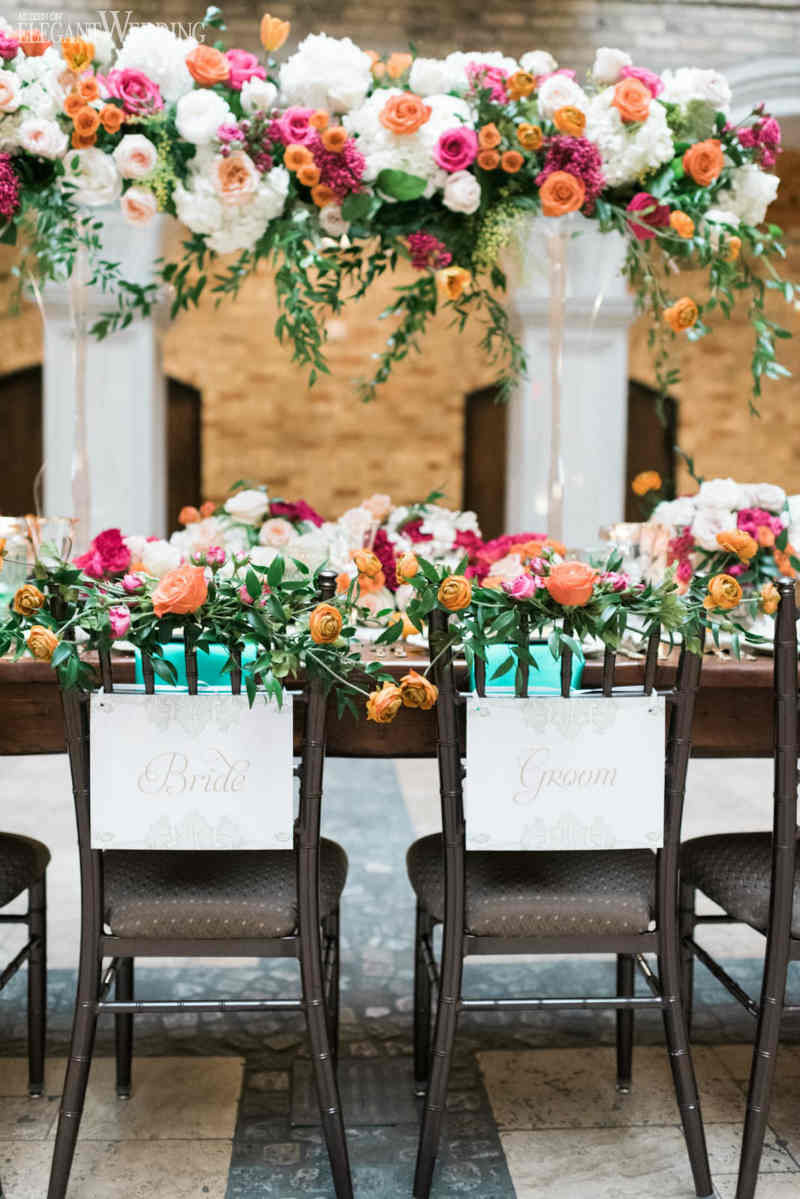 Vintage Spanish Wedding Theme