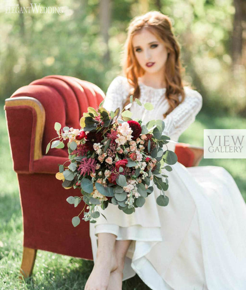 Victorian Wedding Inspiration For A Modern Bride