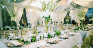 Greenery Garland Centrepieces