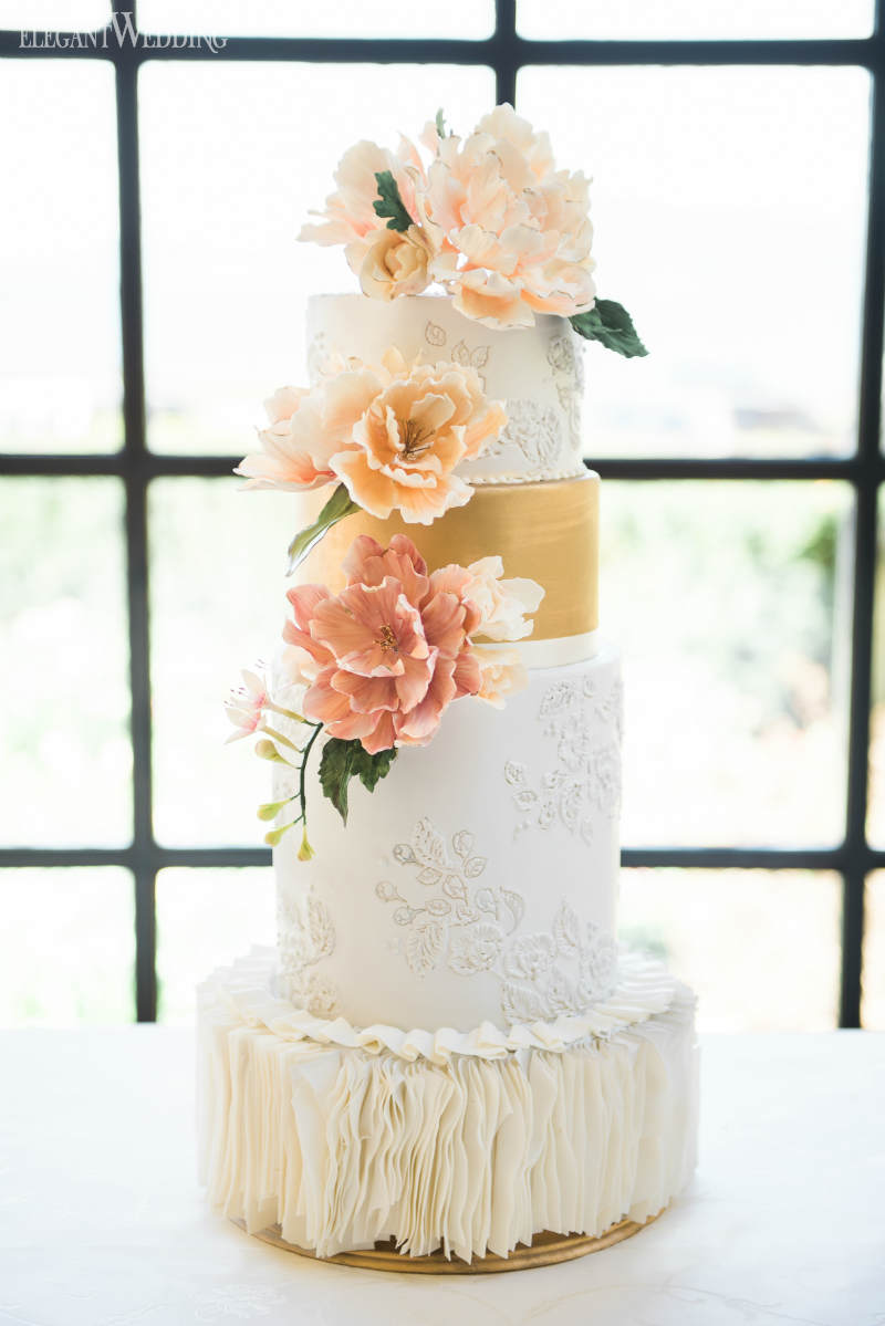 Summer Garden Wedding Cakes