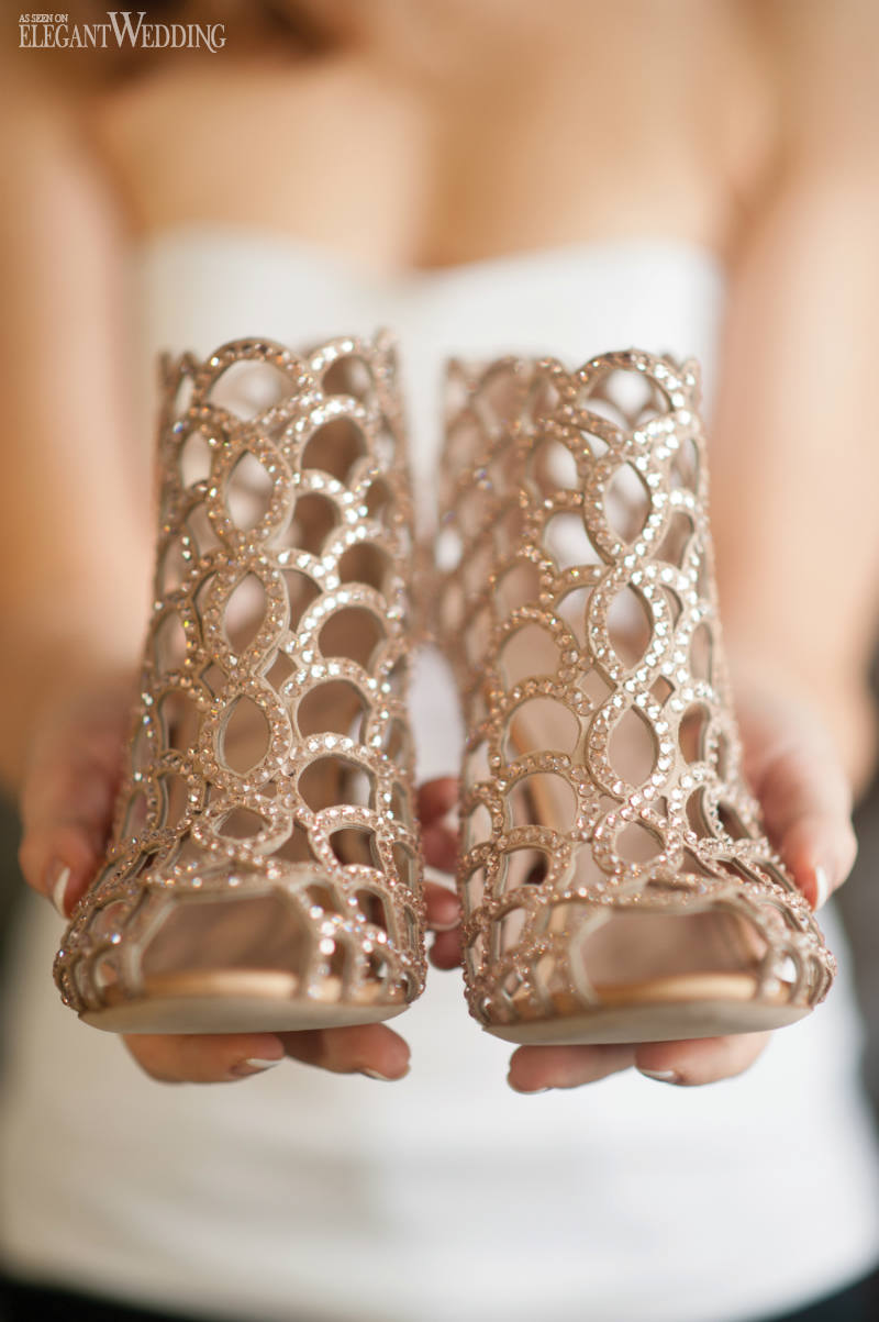 Sergio Rossi Bridal Shoes