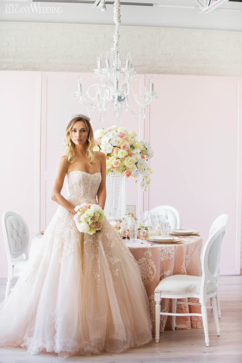 Pale Pink Wedding Ideas