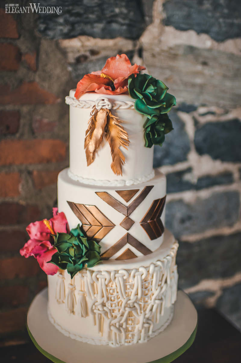 boho wedding cakes desert boho wedding theme elegantwedding ca 12084