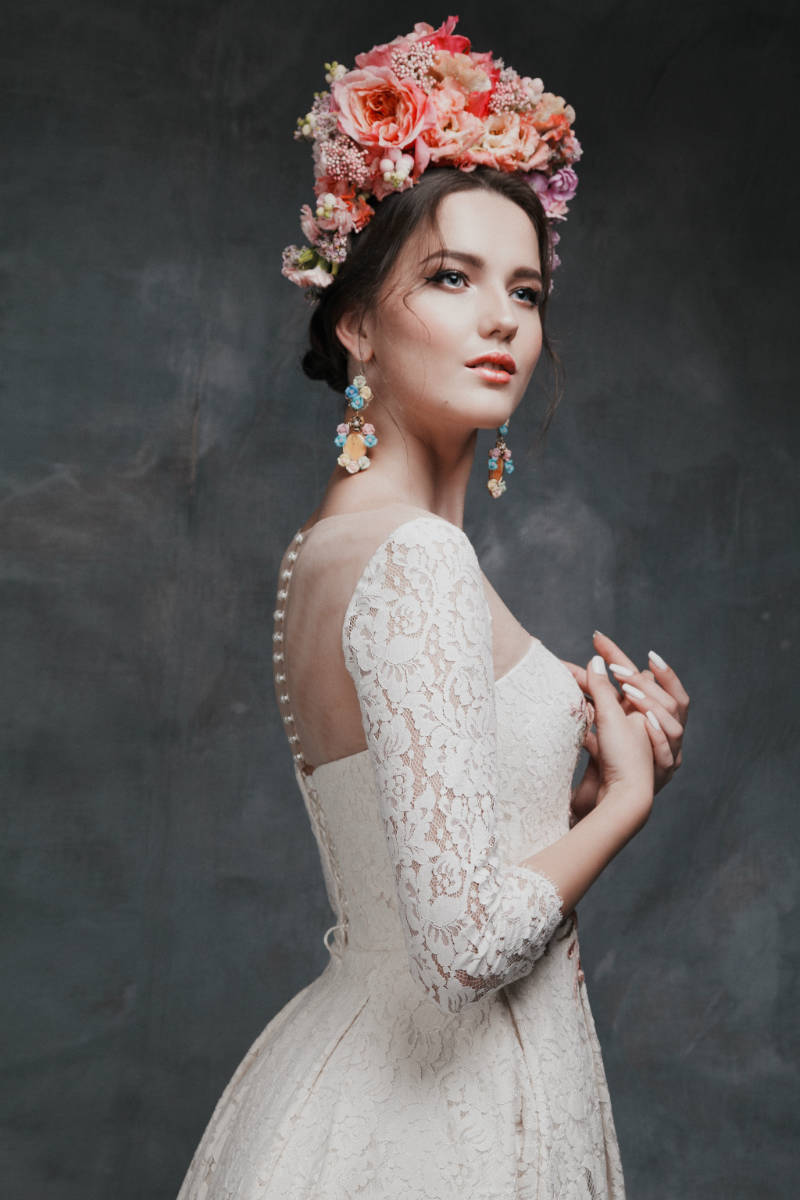 Russian-Inspired Bridal Fashion