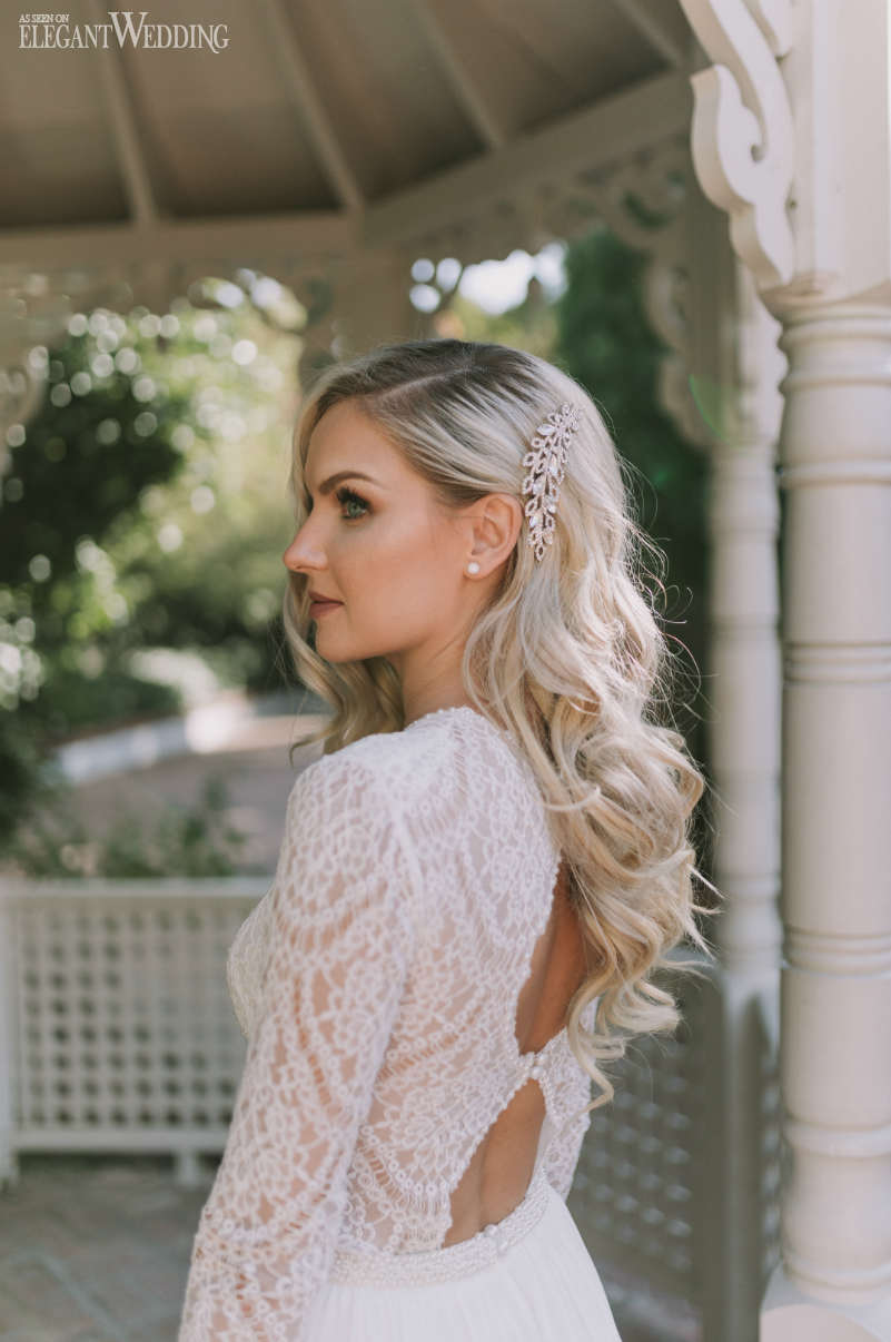 Blonde Bridal Headpieces