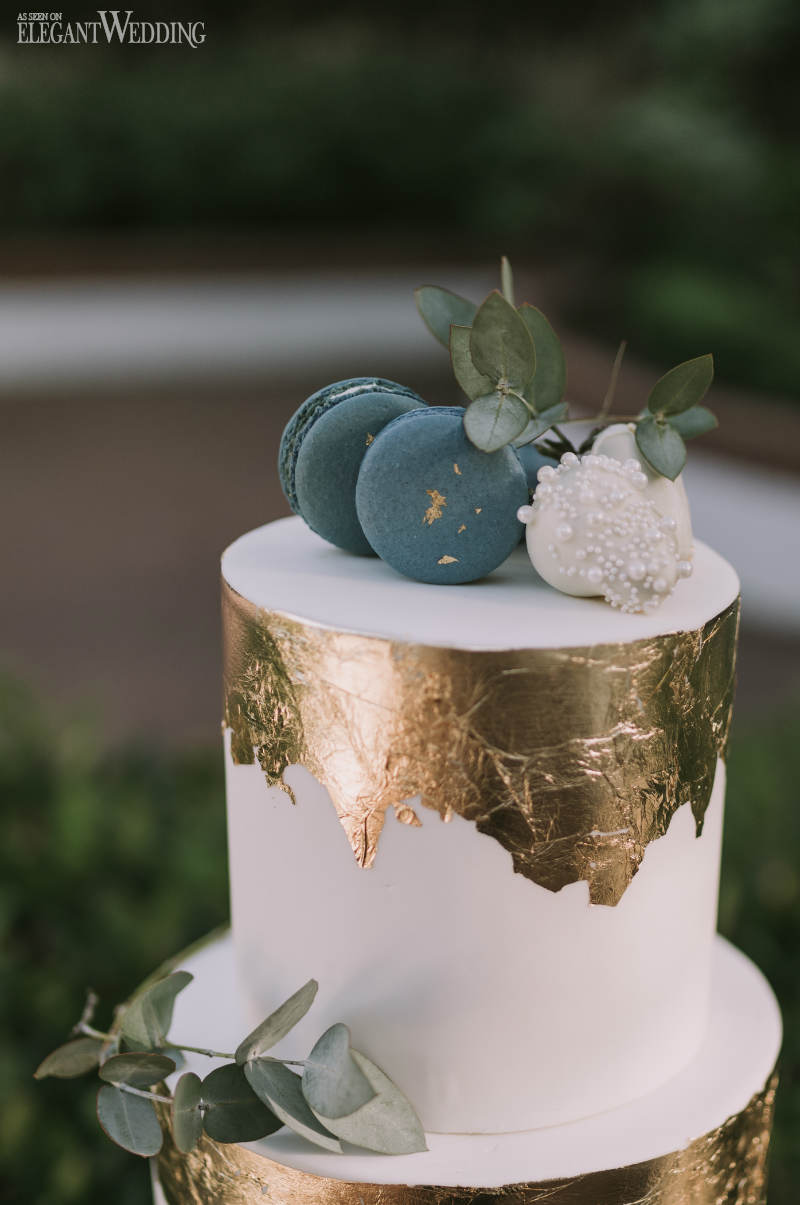 Mini Metallic Cake