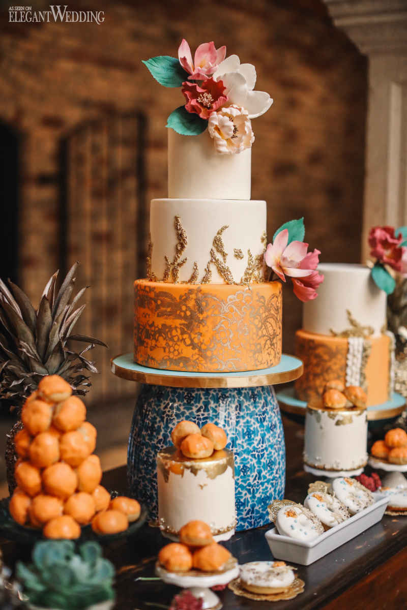 Latin-Inspired Wedding Cakes