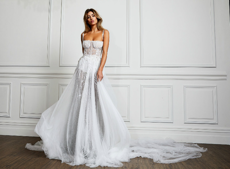 Pallas Couture La Blanche Bridal Collection