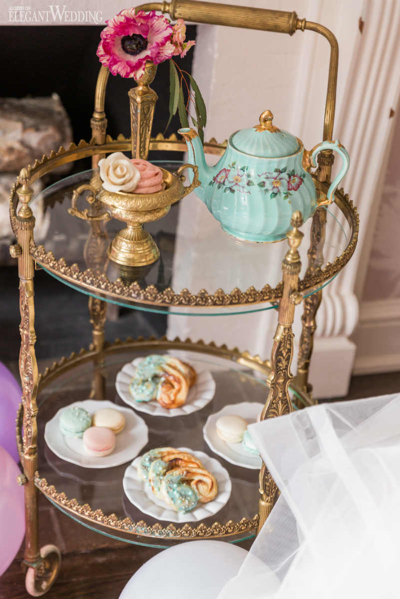 Tea Set Wedding Ideas