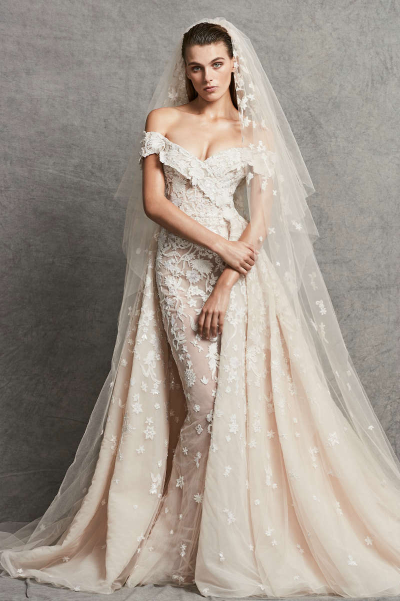 7df4836e80b0 Zuhair Murad Fall 2018 Bridal | ElegantWedding.ca