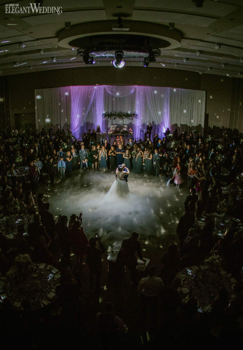 Smoke Machine Wedding Dance Floor