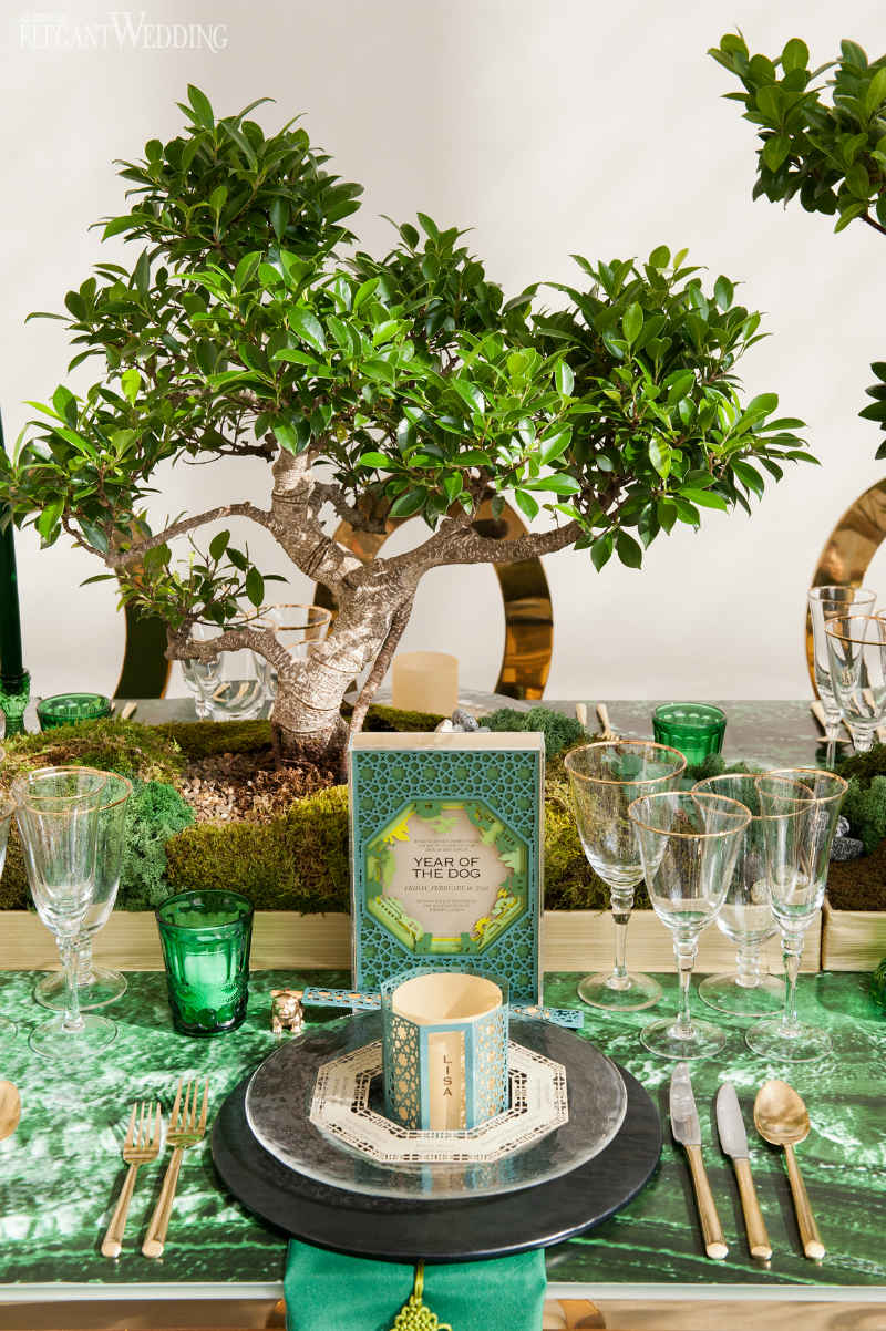 Bonsai Tree Wedding Centrepieces