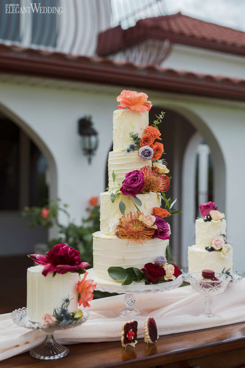 Spanish Wedding Cakes