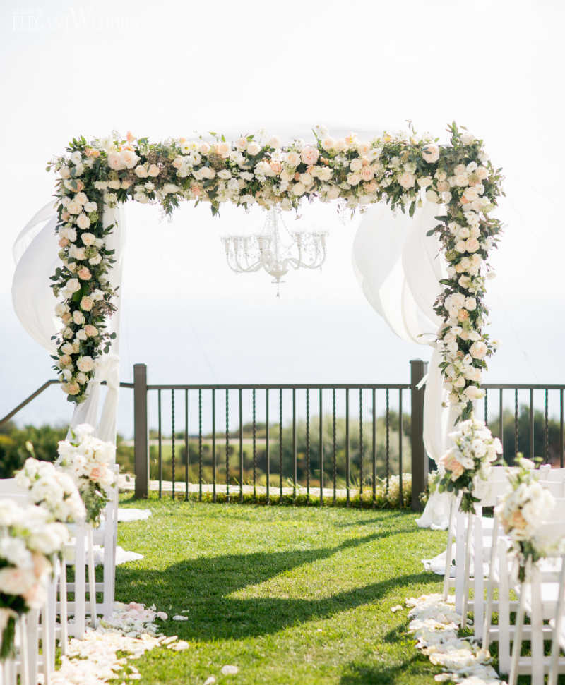 Luxury Wedding Decor in Blush