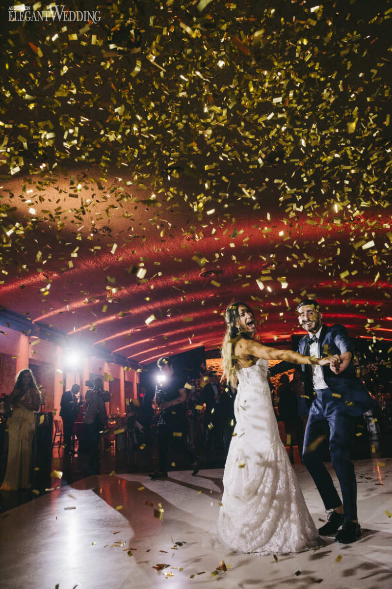Wedding Confetti Blast