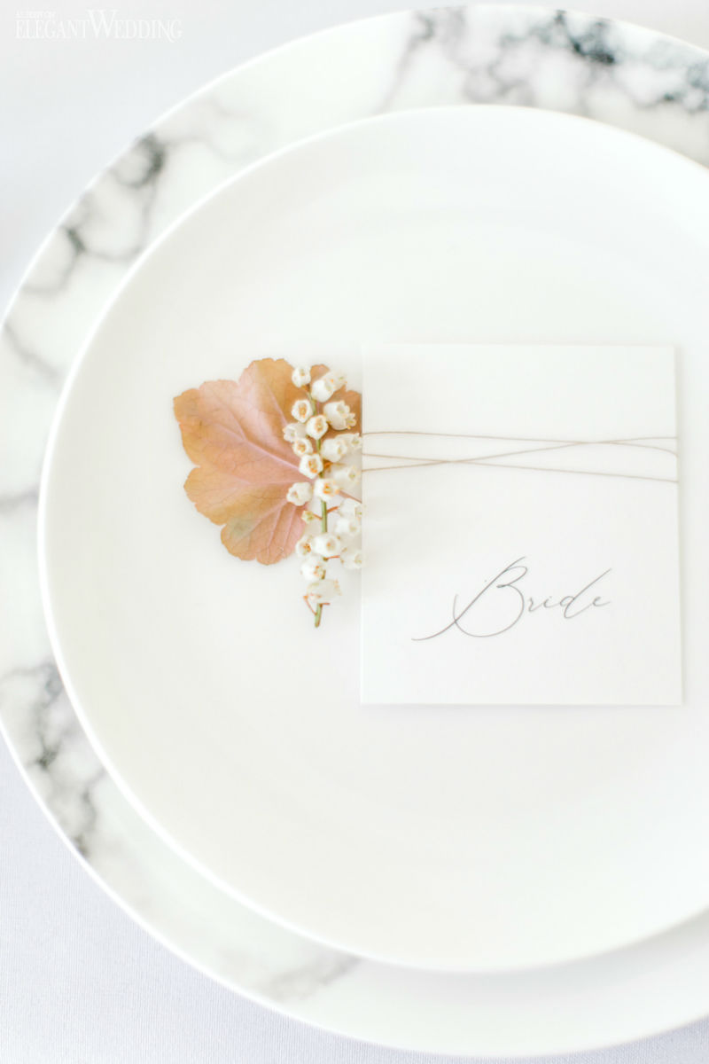 Marble Wedding Decor