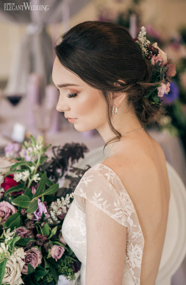 Brunette Bridal Makeup Inspiration