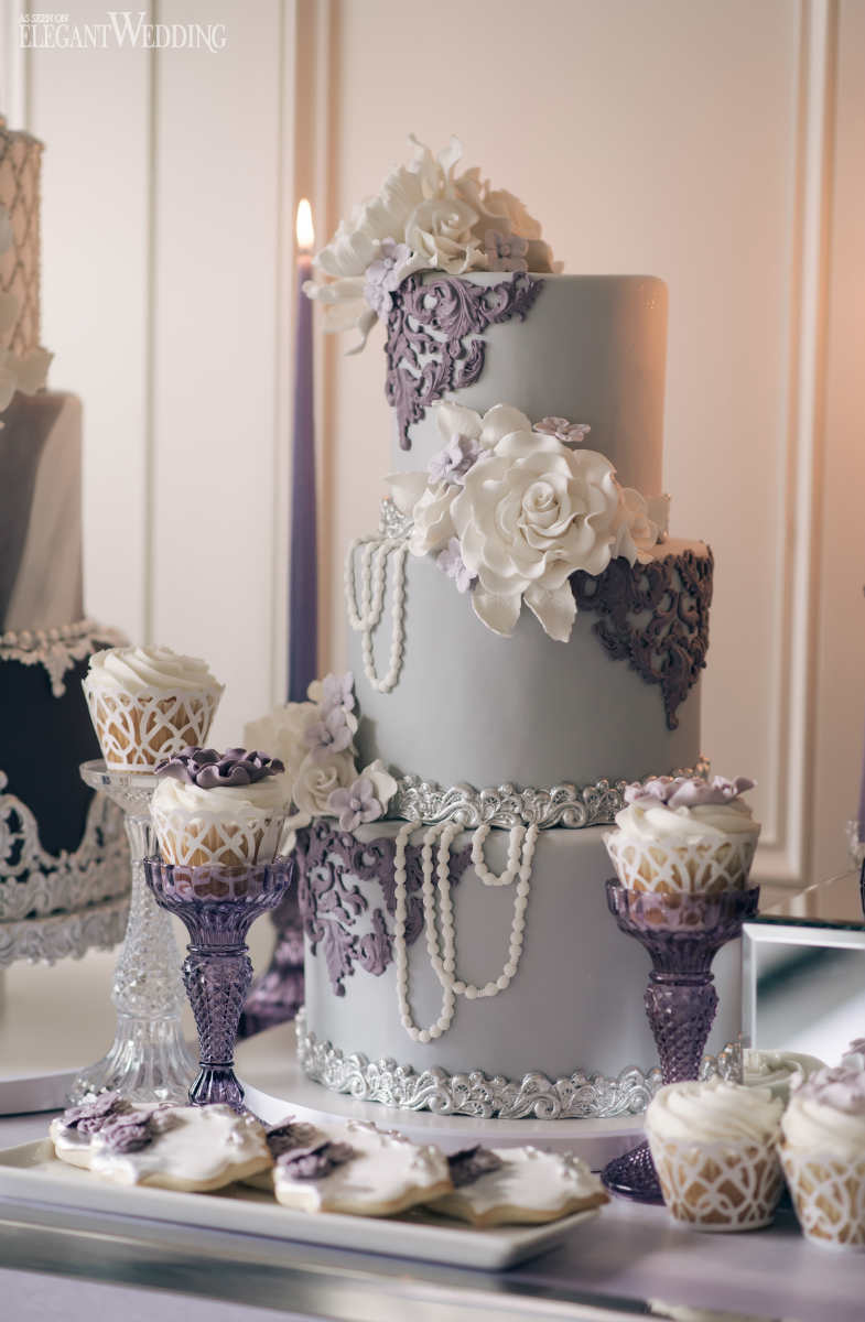 Pearl Wedding Cake Ideas