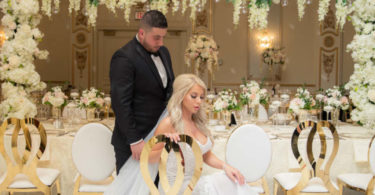 A White & Gold Luxury Wedding