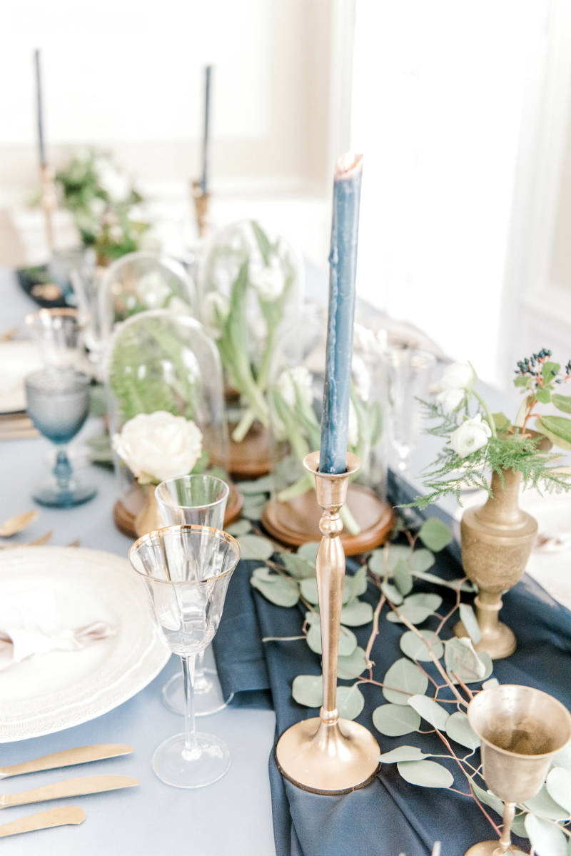 Ethereal Wedding Table Setting