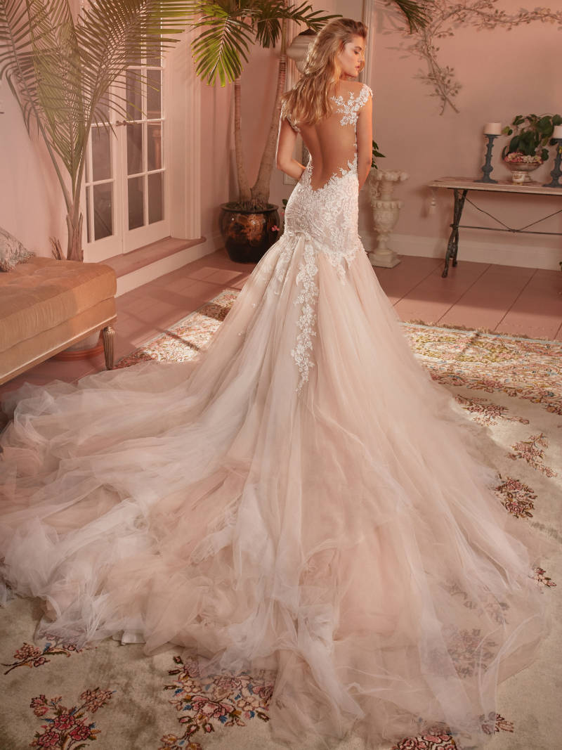 Mermaid Galia Lahav Wedding Dress