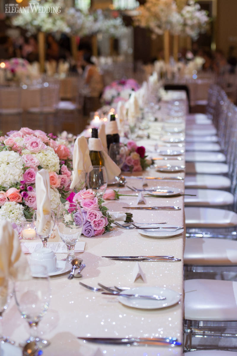 Long Head Table Wedding Ideas